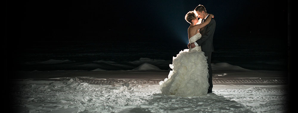 Create magical memories with a winter wedding at the Sands.